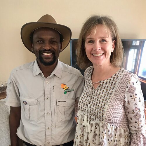 Premiere Travel Planners - Debi with Praise from Tanzania